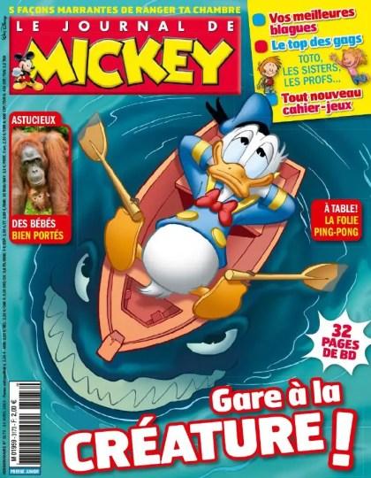 Le Journal de Mickey N°3173 du 10 au 16 Avril 2013
