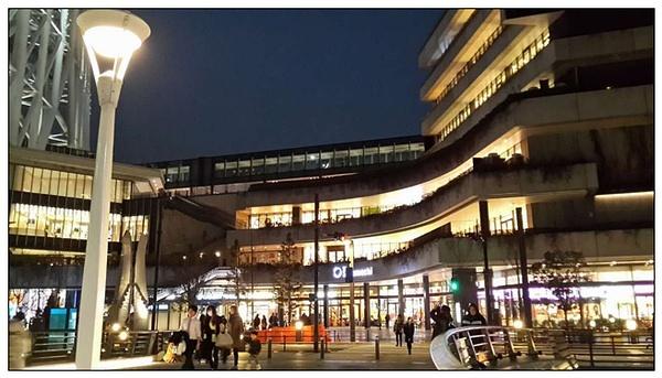 东京天空树下的商圈