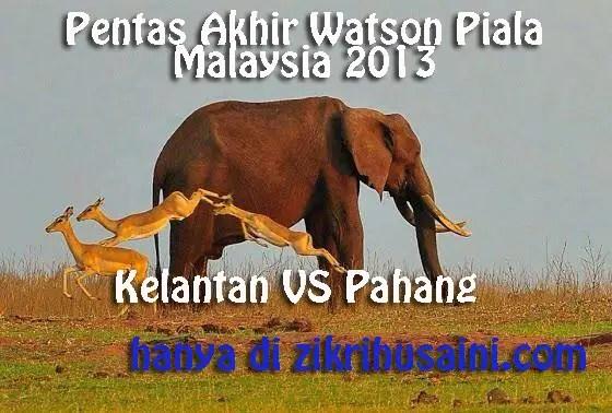 pahang vs kelantan piala malaysia 2013, final pahang vs kelantan piala malaysia 2013, logo pahang vs kelantan 2013,