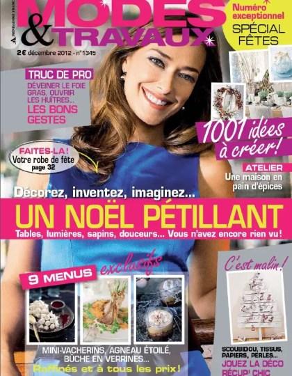Modes & Travaux N°1345 Décembre 2012