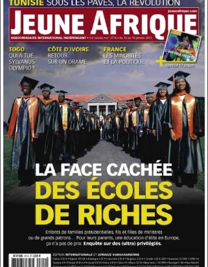 Jeune Afrique N°2714 du 13 au 19 Janvier 2013