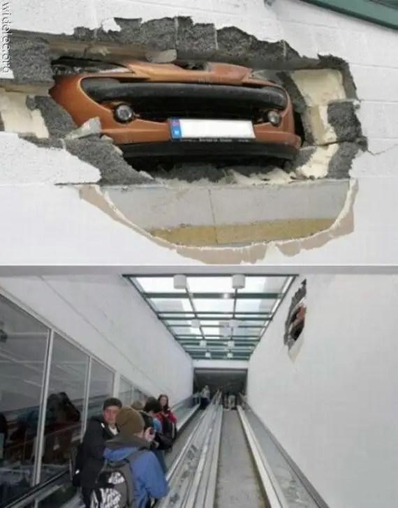 241yy - Accidentes bizarros de coches