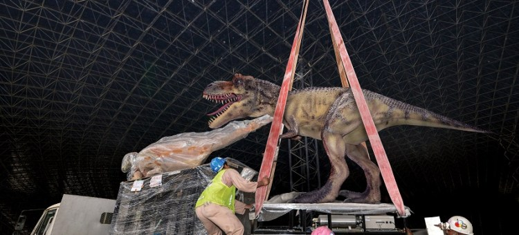 Dinosaurs Now Roam At IMG Worlds of Adventure
