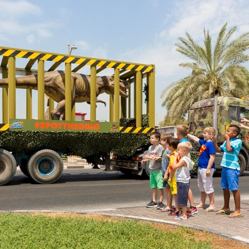 DINOSAURS ROAR THROUGH DUBAI
