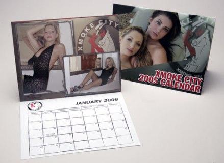 Xmoke City Calendar