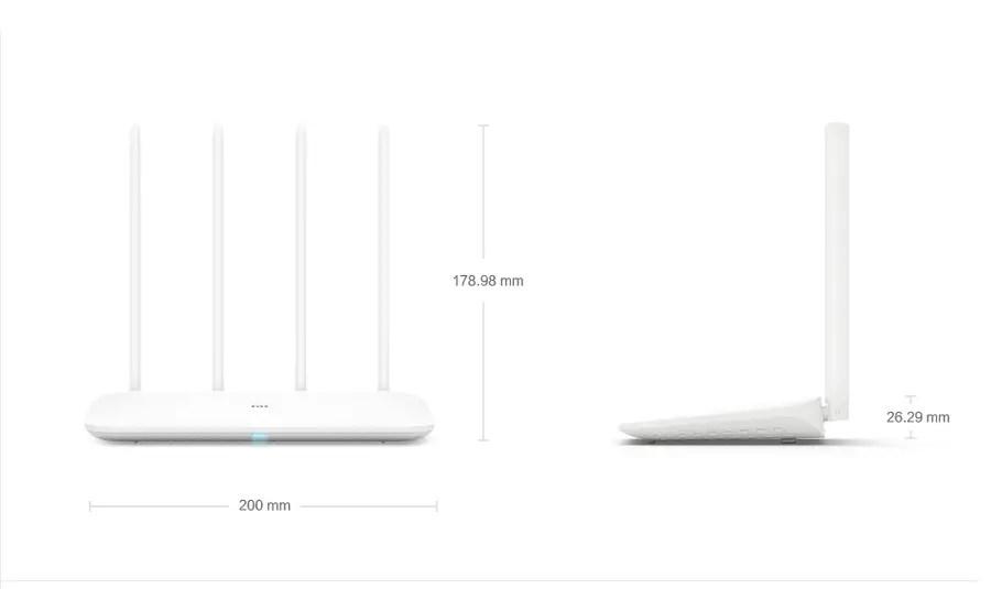 Xiaomi Mi Router 4 Dual Band 2.4G 5G 1167Mbps Gigabit Wireless WiFi Router