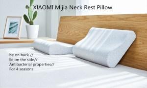 Στα 21€ από αποθήκη Κίνας | Original XIAOMI Mijia Full Antibacterial Neck Protection Pillow Neck Pain Memory Cotton Pillow for Sleeping Relaxation Pillows