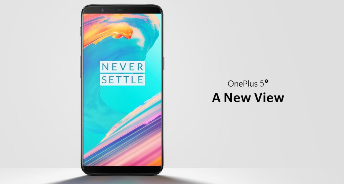 OnePlus 5T Global Version 6.01 Inch 6GB RAM 64GB ROM Qualcomm Snapdragon 835 Octa Core 4G Smartphone