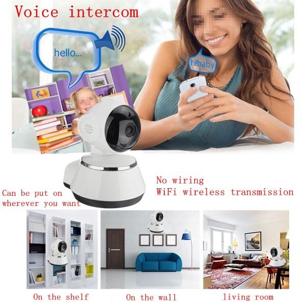 720 P Wireless Security Network CCTV IP Camera Night Vision WIFI Web Cam 17