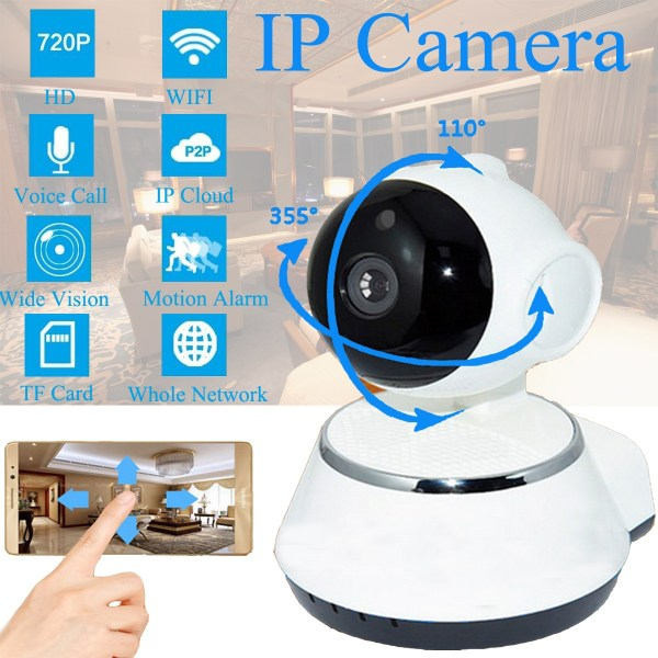 720 P Wireless Security Network CCTV IP Camera Night Vision WIFI Web Cam 9
