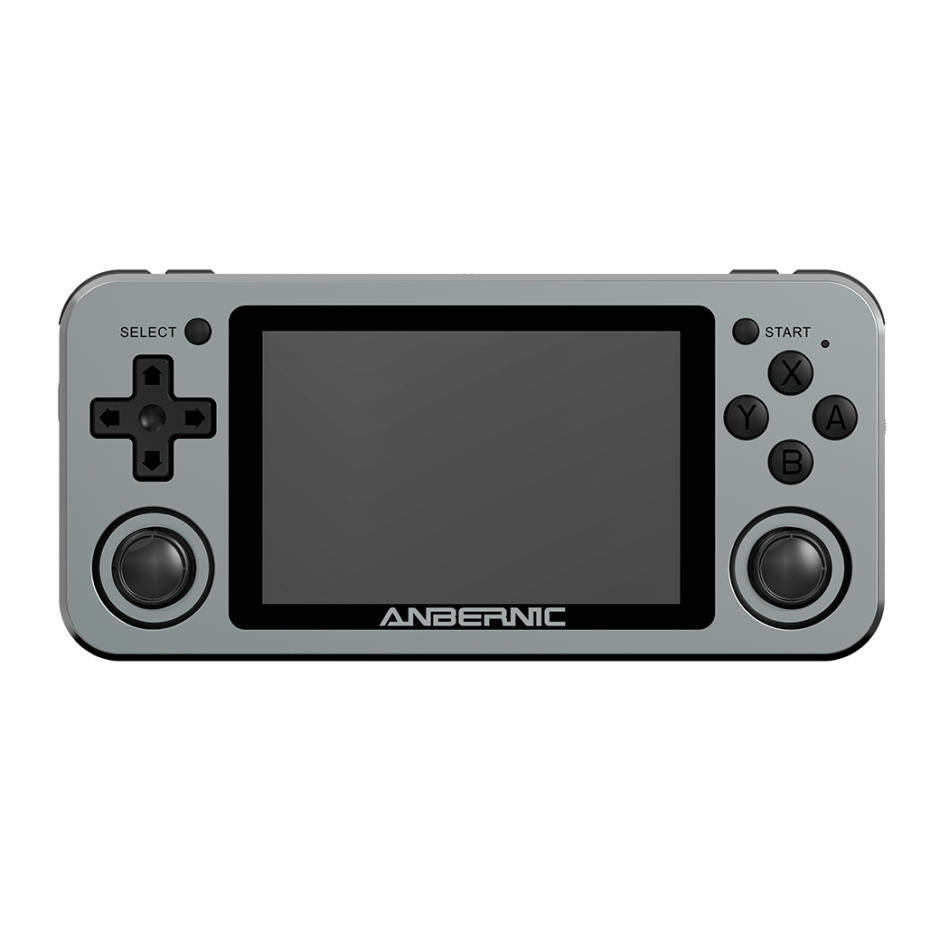 ANBERNIC RG351M 64GB 3000 Games Handheld Video Game Console for PSP PS1 NDS N64 MD Player Wifi Online RK3326 1.5GHz Linux System 3.5 inch OCA Full Fit IPS Screen