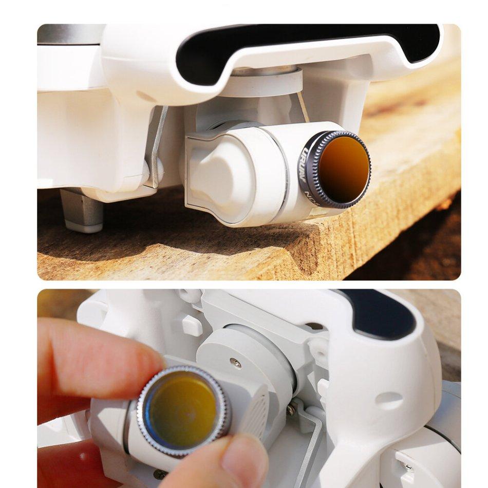 URUAV UV/ND16/ND32/ CPL/NDPL16/NDPL32 Lens Filtes Set for FIMI X8 SE 2020 RC Quadcopter