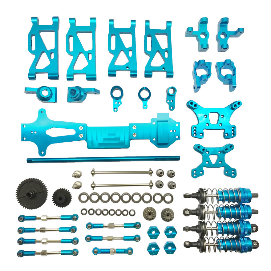 Metal Upgrade Parts For Wltoys 144001 1/14 4WD RC Car Vehicle Models