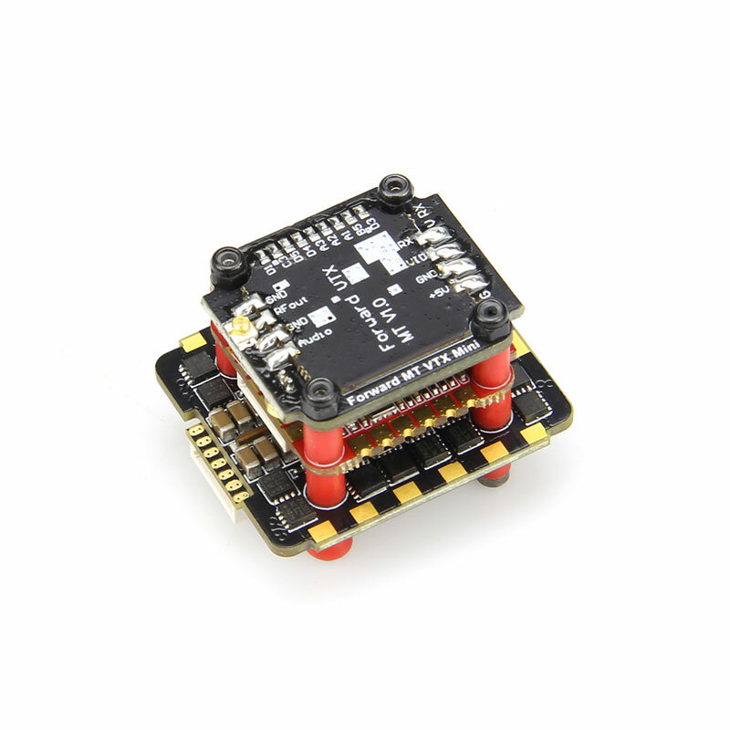 20x20mm HGLRC Zeus F745-VTX STACK F722 F7 Flight Controller 45A Blheli_32 4 IN 1 Burhsless ESC MT VTX Mini 25~600mW for RC Drone FPV Racing