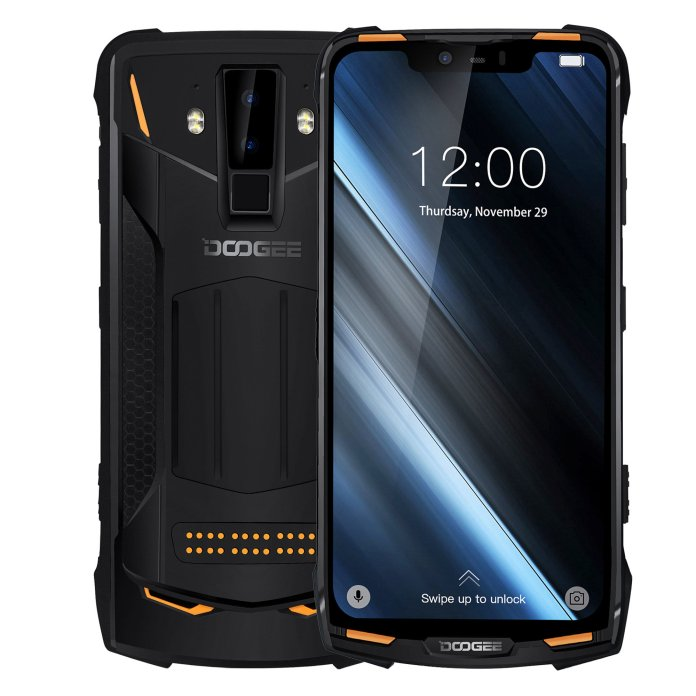 DOOGEE S90 Power Edition 6.18 Inch FHD+ IP68 NFC 5050mAh 6GB RAM 128GB ROM Helio P60 Octa Core 4G Smartphone