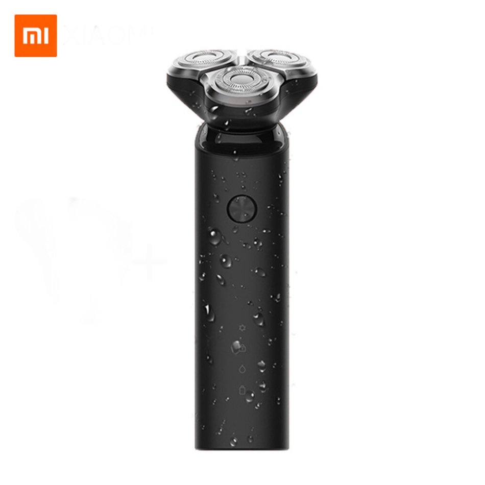 Mijia S1 Electric Razor IPX7 Waterproof Wet Dry Shaving Machine 3 Blades Trimmer Shaver USB Rechargable For Men's Gift Portable in Travel from Xiaomi Youpin