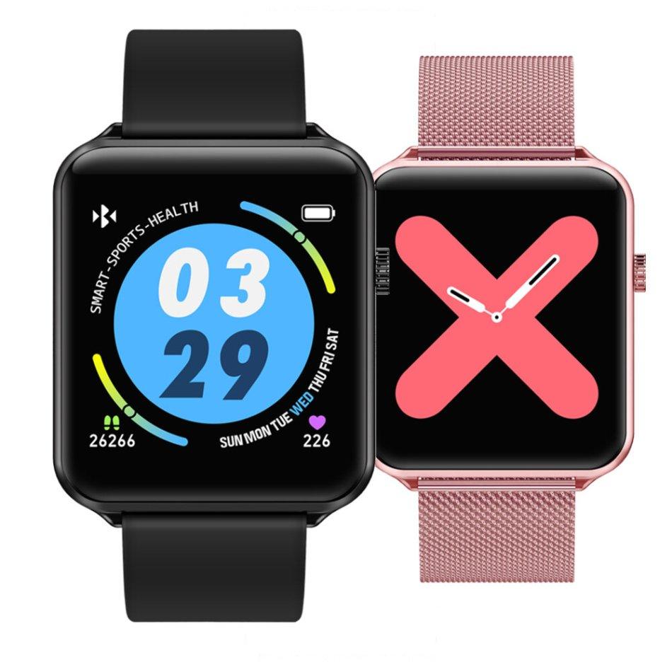 Bakeey A10 1.3' Full Touch Screen IP68 Waterproof Wristband Dynamic UI Heart Rate Blood Oxygen Monitor Smart Watch