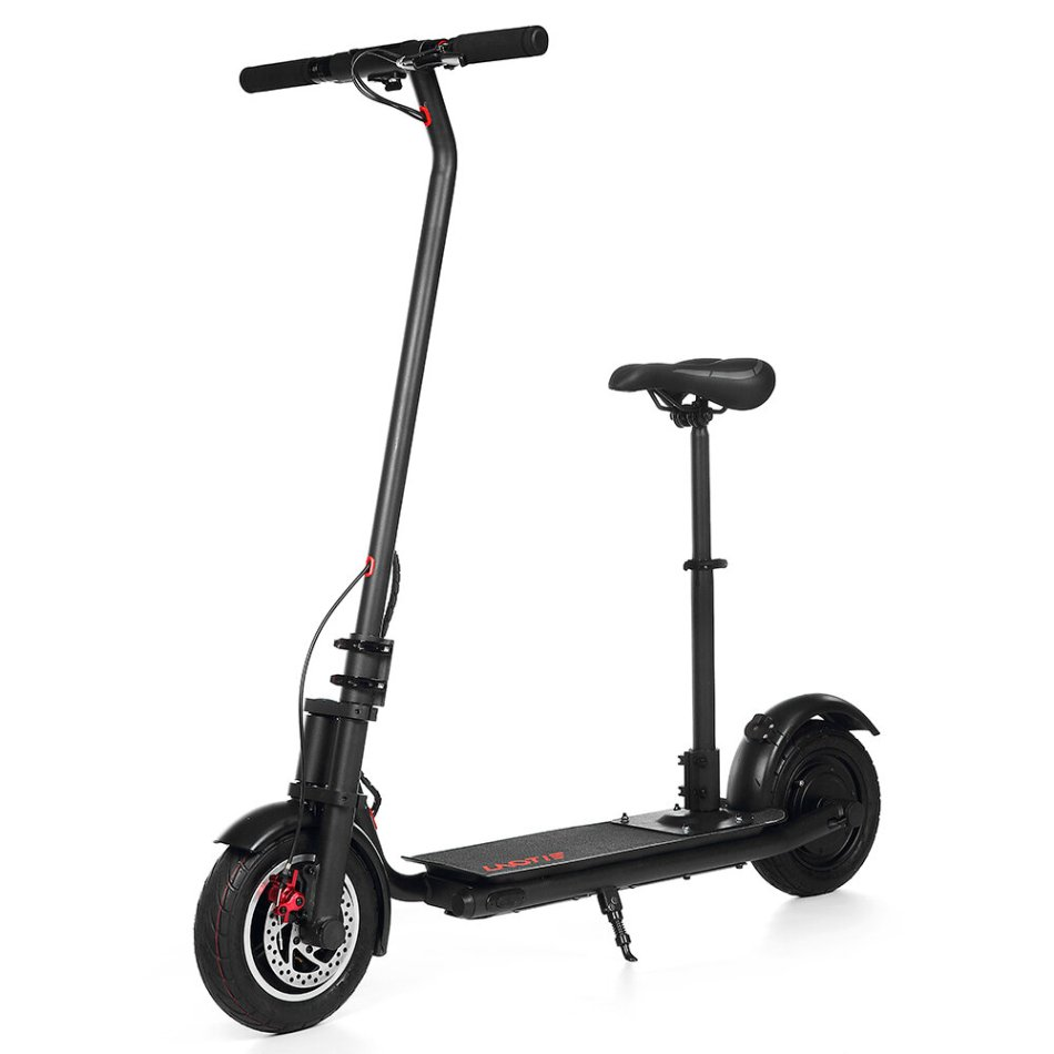 LAOTIE N7S 300W 36V 10.4Ah 3 Modes Foldable Electric Scooter With Saddle 32 km/h Top Speed 36km Mileage Range Max Load 120kg