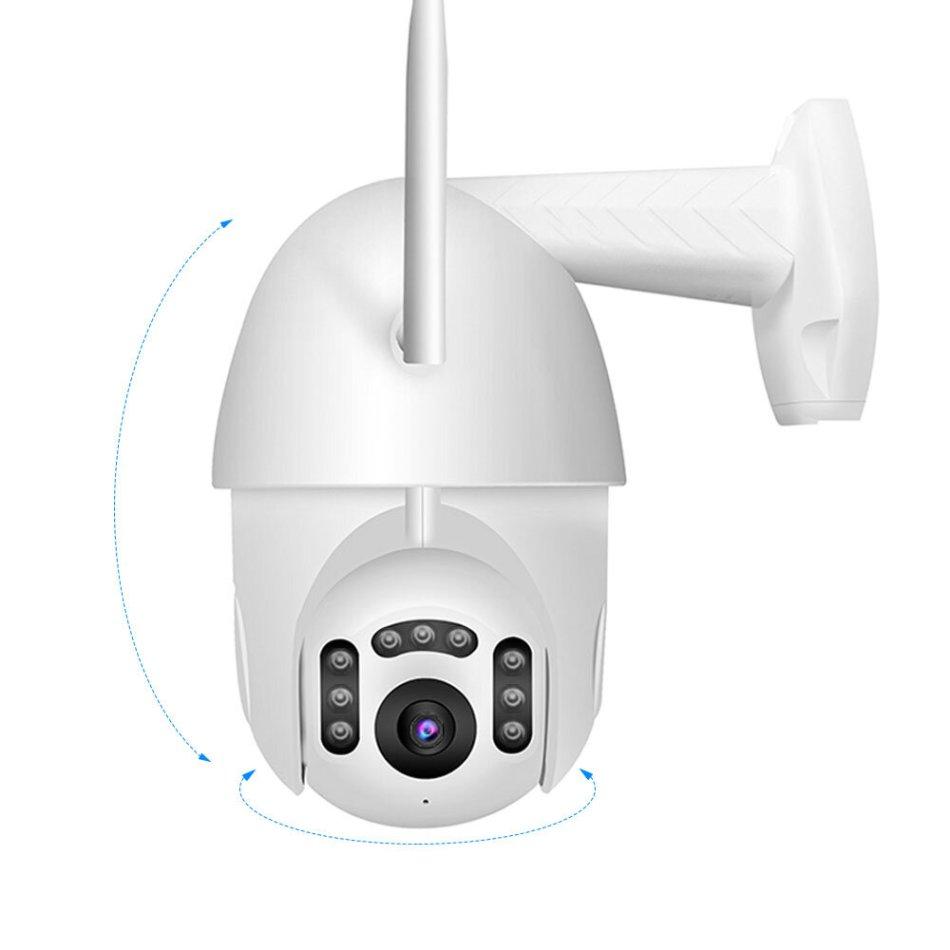 [EU Plug] Xiaovv B7 Smart WIFI HD 1080P IP Camera 360° PT-Z Rotation H.265 Waterproof ONVIF Support 8 LEDS Infrared Night Version APP Camera from xiaomi youpin