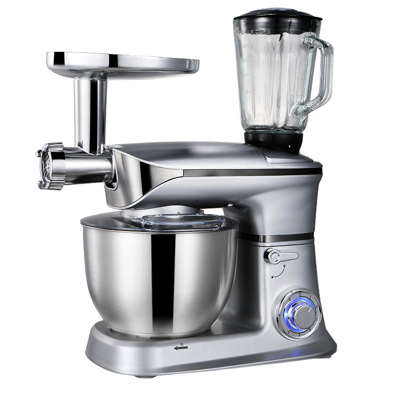 STELANG SC-262C 6.5L / 1300W Kitchen Electric Mixer Kneading Dough Machine Egg Beater Electric Mixer Cream Whipping Machine For Home Baking