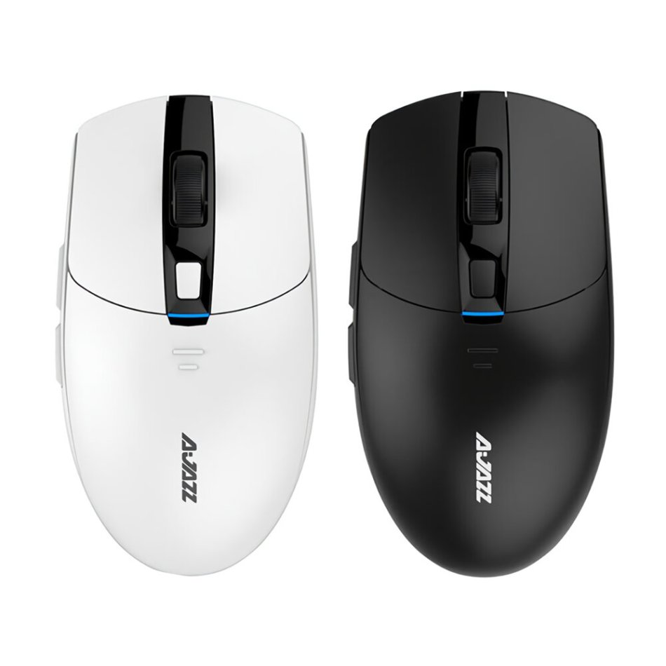 Ajazz I303Pro 16000DPI 2.4Ghz Wireless 8 Buttons: 6 Colors LED Light PMW3338 Chip Wireless Driver Adjusting Gaming Mouse for PC Laptop