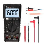 MUSTOOL MT108T Square Wave Output True RMS NCV Temperature Tester Digital Multimeter 6000 Counts Backlight
