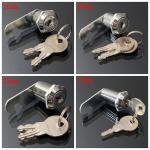 16 20 25 30mm Cam Lock Door Cabinet Mail Post Box Drawer Cupboard Locker 2 Keys Sale Banggood Com