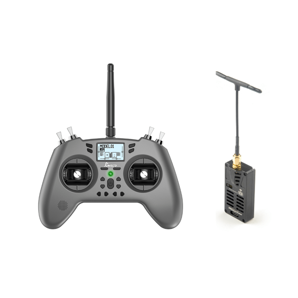 Jumper T-Lite 16CH Hall Sensor Gimbals JP4IN1 Multi-protocol RF System OpenTX Left Hand Throttle Transmitter Support Jumper 915 R900/CRSF Nano And Happymodel ES24TX-Lite ExpressLRS ELRS 2.4GHz Long Range Low Latency High Re-flashed Micro TX Module