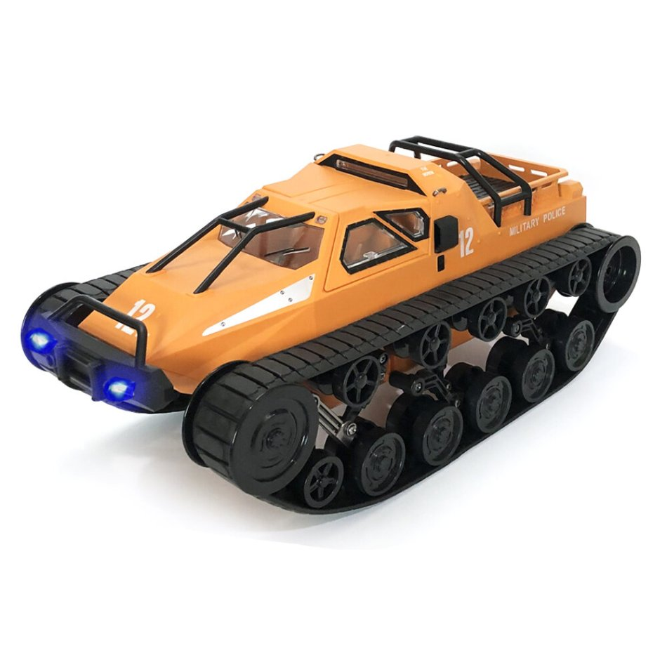 Eachine EAT06 1/12 2.4G Drift RC Tank Car High Speed Full Proportional Control Vehicle Models With Head Light
