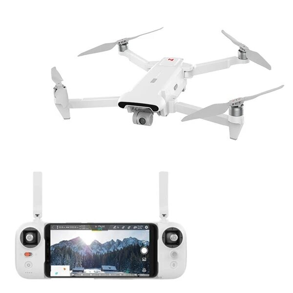 Xiaomi FIMI X8 SE 2020 8KM FPV With 3-axis Gimbal 4K Camera HDR Video GPS 35mins Flight Time RC Drone Quadcopter RTF One Battery Version