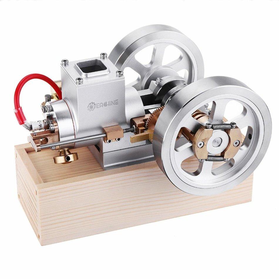 Eachine ET1 STEM Upgrade Hit & Miss Gas Engine Stirling Engine Model Combustion Engine Collection