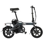 Στα €705.15 από αποθήκη Τσεχίας | EU DIRECT FIIDO L3 Flagship Version 48V 350W 23.2Ah Long Distance Electric Bike 14 inch 25km or h Top Speed 130Km Max Mileage Electric Bicycle