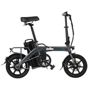 Στα €705.15 από αποθήκη Τσεχίας | EU DIRECT FIIDO L3 Flagship Version 48V 350W 23.2Ah Long Distance Electric Bike 14 inch 25km or h Top Speed 130Km Max Mileage Electric Bicycle