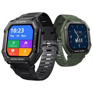 Στα €26 σε preorder από αποθήκη Κίνας | [50 Days Standby]Kospet Rock 1.69 Inch Large Screen Heart Rate Blood Pressure SpO2 Monitor 20 Sport Modes bluetooth 5.0 Three-proof Outdoor Smart Watch