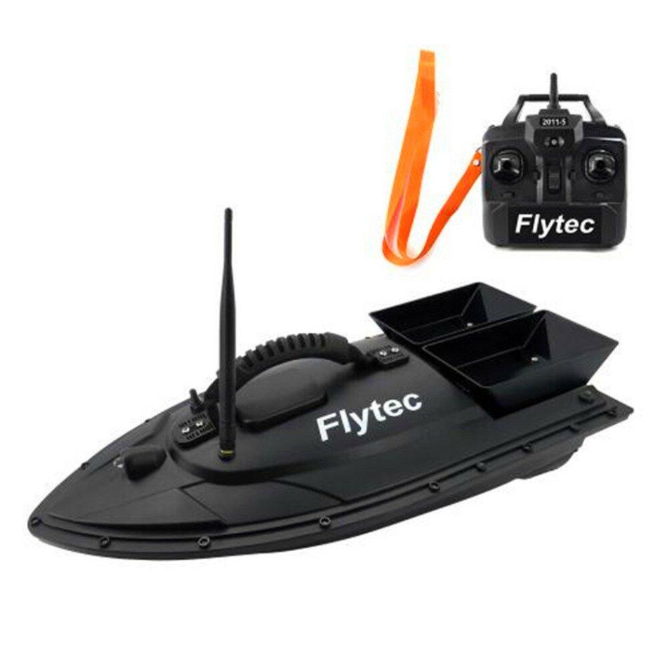 Flytec 2011 5 50cm Fishing Bait RC Boat Fish Finder 5.4km/h Double Motor Toys