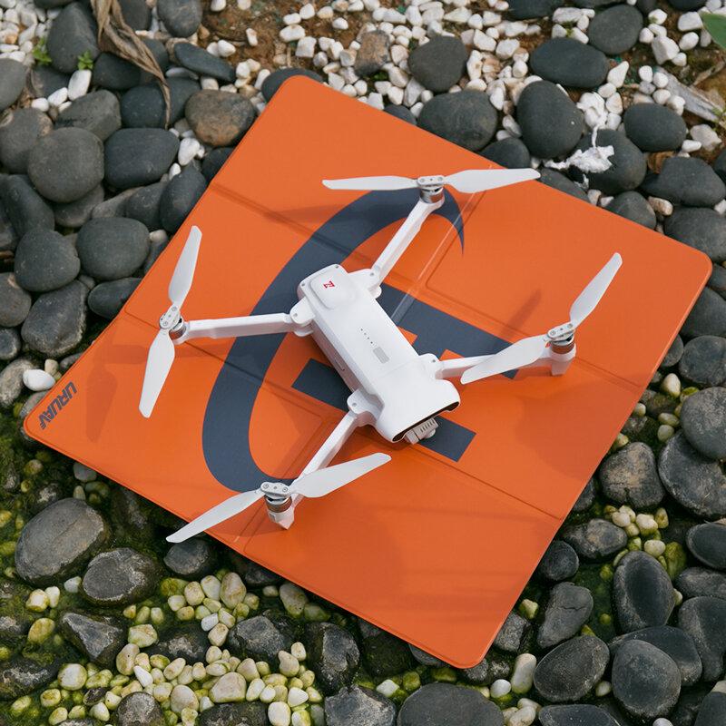 URUAV Waterproof Universal 50*50cm Parking Pad Apron for FIMI X8 SE 2020/DJI Mavic Air 2/Mavic Mini/Mavic Mini 2 RC Quadcopter