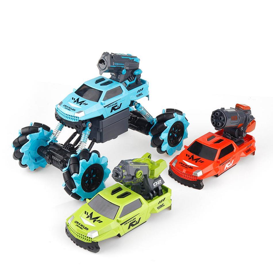 Xiaomi Youpin Bravokids RC Car 3 In 1 Crawler Truck Vehicle Models Children Toy Double Battery