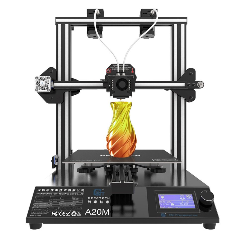 Geeetech® A20M Mix-color 3D Printer