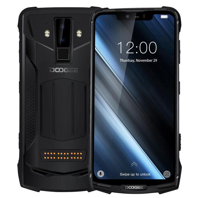 DOOGEE S90C Super Bundle Global Bands IP68 Waterproof 6.18 inch FHD+ NFC 5050mAh 16MP+8MP AI Dual Rear Cameras 4GB 64GB Helio P70 Octa Core 4G Smartphone Mobile PhonesfromPhones & Telecommunicationson banggood.com