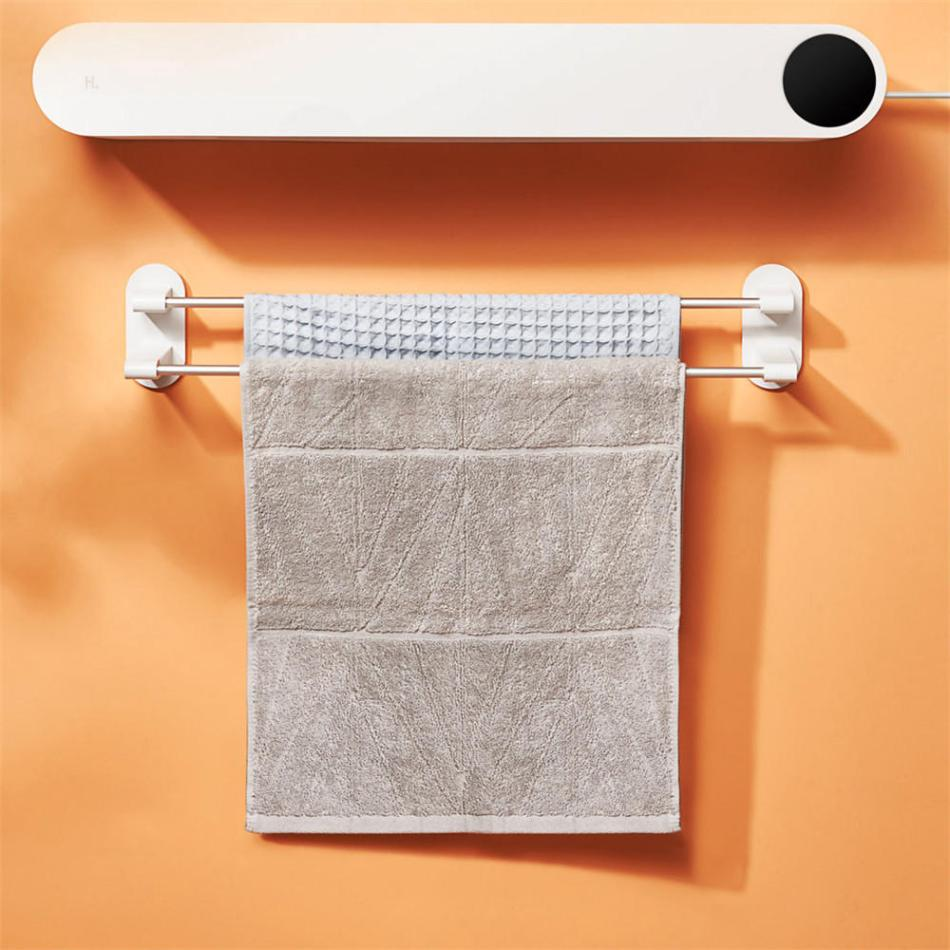 Happy Life YSHR03 UV Germicidal 50 Deg.C Hot Air Disinfection Bathroom Towel Dryer Smart Drying Sterilizing Machine from Xiaomi Youpin