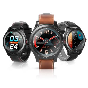 Στα €24.47 από αποθήκη Κίνας | Bluetooth 5.0 BlitzWolf BW HL2 1.3 inch Full round Touch Screen Heart Rate Blood Pressure O2 Monitor Brightness Control Smart Watch
