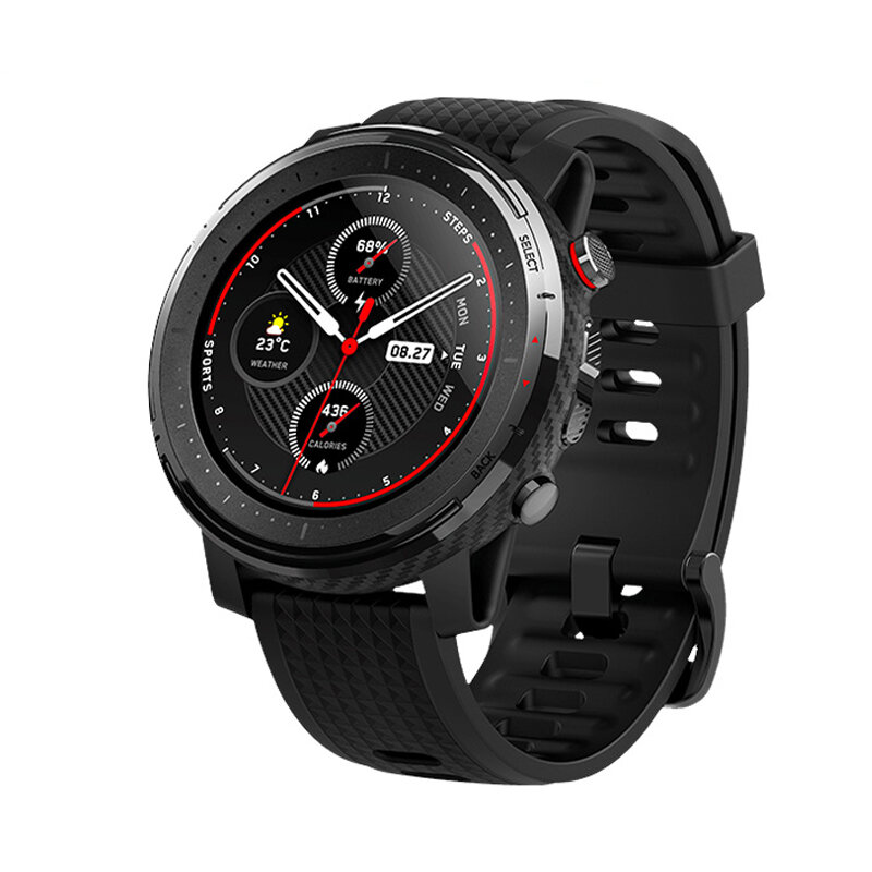 Amazfit stratos 3 1.34' Screen GPS+GLONASS bluetooth Music Play 14 Days Battery 19 Sport Modes Smart Watch Global Version