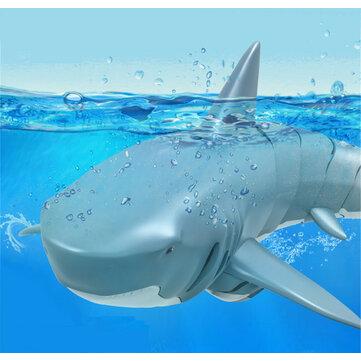 T11B 2.4G 4CH Electric RC Boat Simulation Shark Animal RTR Model Toys