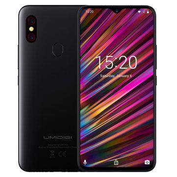 UMIDIGI F1 Android 9.0 Global Bands 6.3 Inch FHD+ NFC 5150mAh 4GB 128GB Helio P60 4G Smartphone