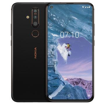 £334.15Nokia X71 6.39 inch 48MP Triple Rear Camera 6GB RAM 64GB ROM Snapdragon 660 Octa core 4G SmartphoneSmartphonesfromMobile Phones & Accessorieson banggood.com