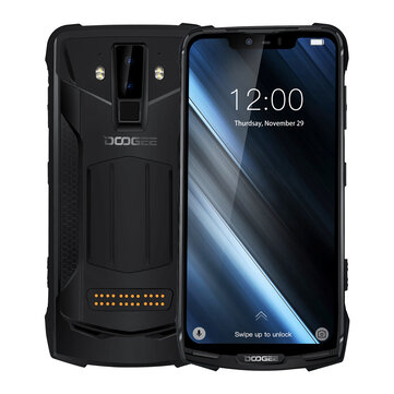 £365.75 8% DOOGEE S90 Super Bundle 6.18 Inch FHD+ IP68 NFC 5050mAh 6GB RAM 128GB ROM Helio P60 Octa Core 2.0GHz 4G Smartphone Smartphones from Mobile Phones & Accessories on banggood.com