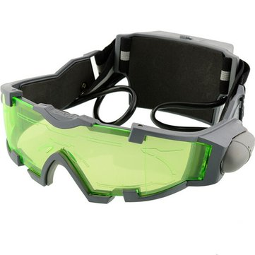 Night Vision Goggles Lens Adjustable Elastic Band Night Glasses Eyeshield Worldwide Green