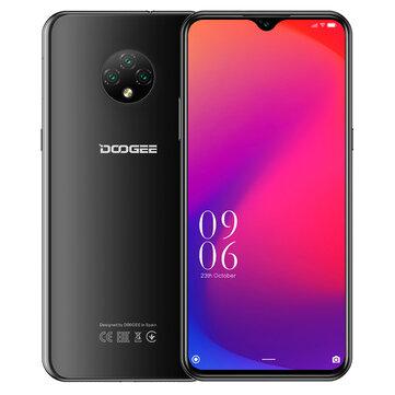 Οικονομικό smartphone ότι πρέπει και για δώρο | DOOGEE X95 Global Version 6.52 inch Android 10 4350mAh Face Unlock 13MP Triple Rear Camera 2GB 16GB MT6737V 4G Smartphone – Black EU Version