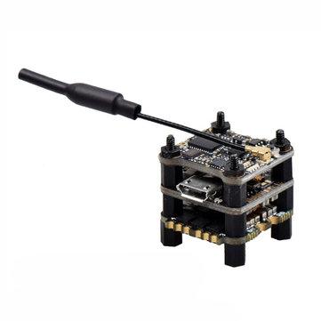 JHEMCU SIF4 F4 Flight Controller + 13A Blheli_S 2-4S Brushless ESC + 40CH 25~200mW VTX 16*16mm for RC Drone FPV Racing