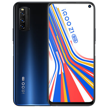 vivo iQOO Z1 5G CN Version 6.57 inch FHD+ 144Hz Refresh Rate NFC Android 10 4500mAh 48MP AI Triple Rear Camera 6GB 128GB Dimensity 1000+ Smartphone Mobile Phones from Phones & Telecommunications on banggood.com